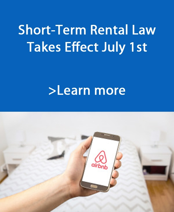 Short-Term Rental Law Takes Effect July 1st